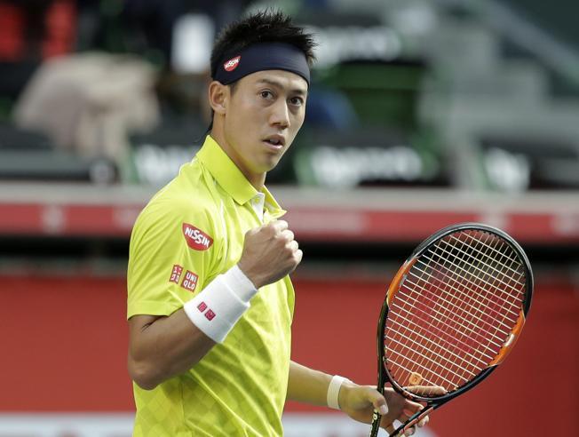 Nishikori a semifinales en Tokyo