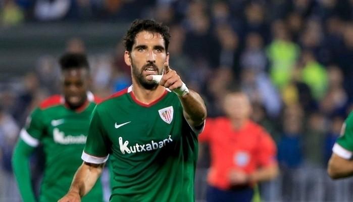 Raúl García marcó otro gol con el Athletic