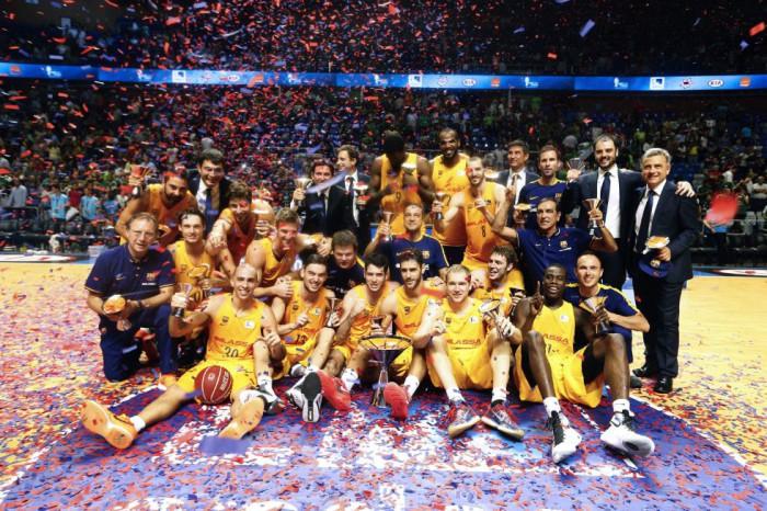 Supercopa ACB - Barcelona Lassa campeón