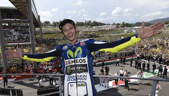 Valentino Rossi, un tipo simpático que se ha ganado enemigos