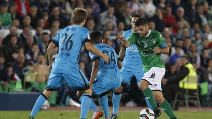 El Villanovense aguantó el 0-0 ante el Barcelona