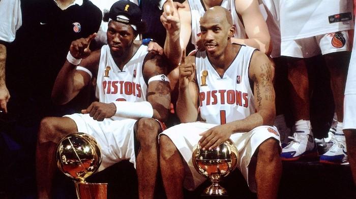 Wallace y Billups ya son dos leyendas de los Detroit Pistons