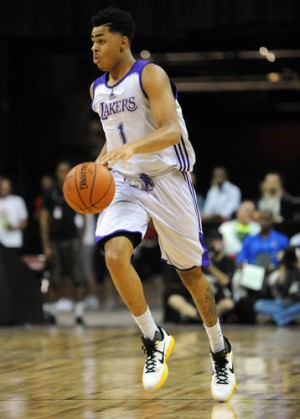 D'Angelo Russell es el prometedor rookie de los Lakers