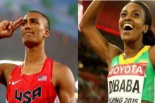 Ashton Eaton y Genzebe Dibaba, los mejores atletas del año 2015