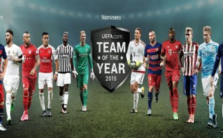 La UEFA anuncia los futbolistas candidatos al Once Ideal de 2015