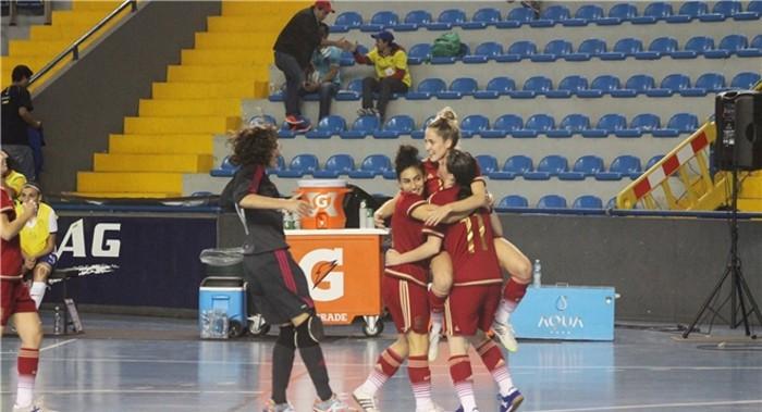 España repite tercer puesto en el Mundial de Fútbol Sala femenino de 2015