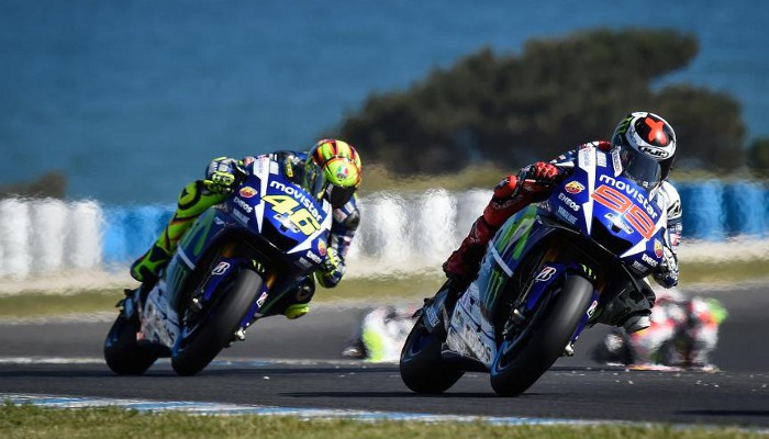 Lorenzo y Rossi pelearán en Valencia por el título de MotoGP