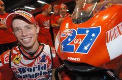 El regreso del australiano Casey Stoner a Ducati ya es una realidad
