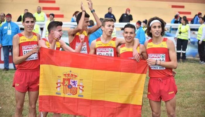 España ha ganado por primera vez el oro europeo por equipos en sub 23