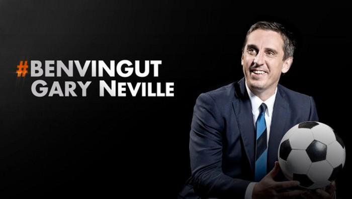 Gary Neville confirmado como nuevo entrenador del Valencia