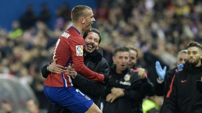 Los goles de Griezmann ponen al Atlético colíder