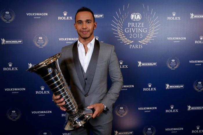 Lewis Hamilton Gala FIA