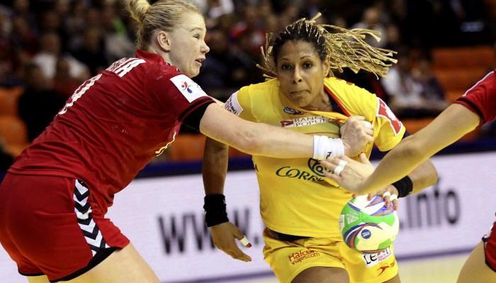 Marta Mangué no pudo jugar los minutos decisivos y España la echó de menos