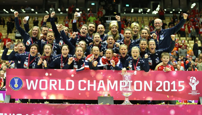 Noruega ganó el Mundial de balonmano 2015