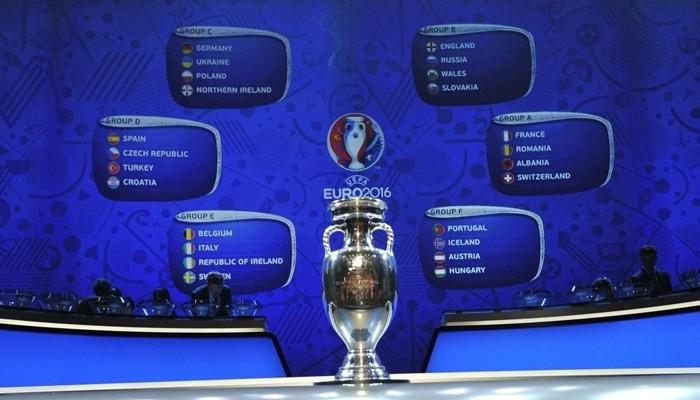 Sorteo de la fase de grupos de la Eurocopa 2016
