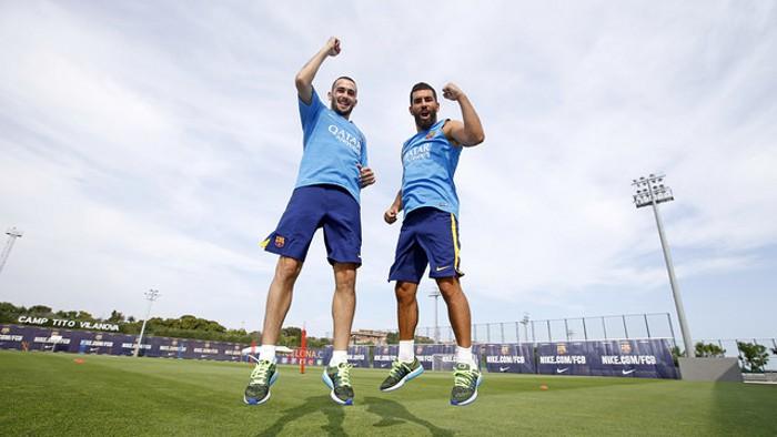 Aleix y Arda ya pueden jugar con el Barcelona