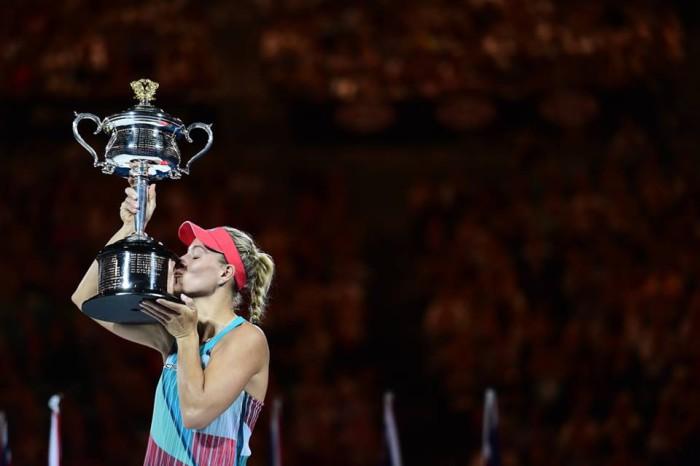 Angelique Kerber gano el Open de Australia