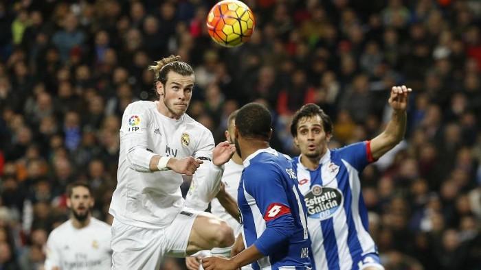 Bale recibió a Zizou con un hattrick