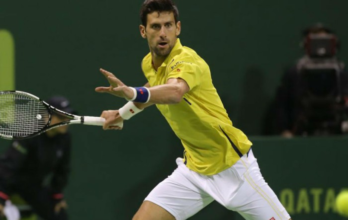 Djokovic campeón en Doha