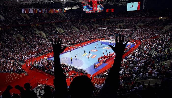 El Europeo de balonmano está siendo un éxito de público en Polonia
