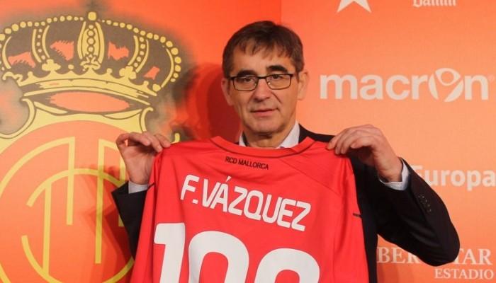 Fernando Vázquez presentado como entrenador del Mallorca
