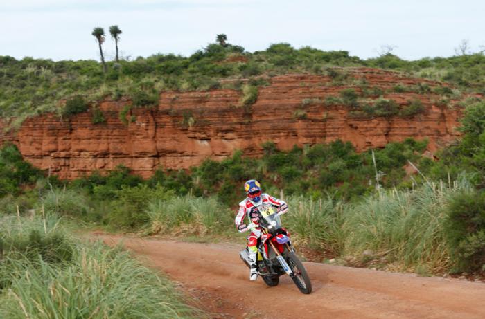 Joan Barreda en el Dakar