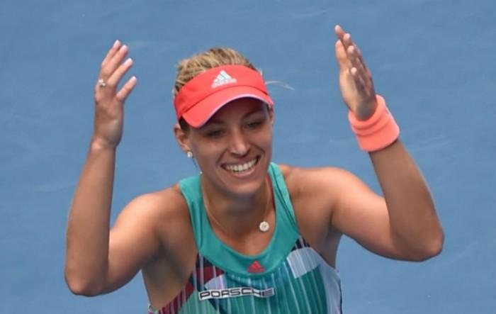 Kerber a la final de Australia