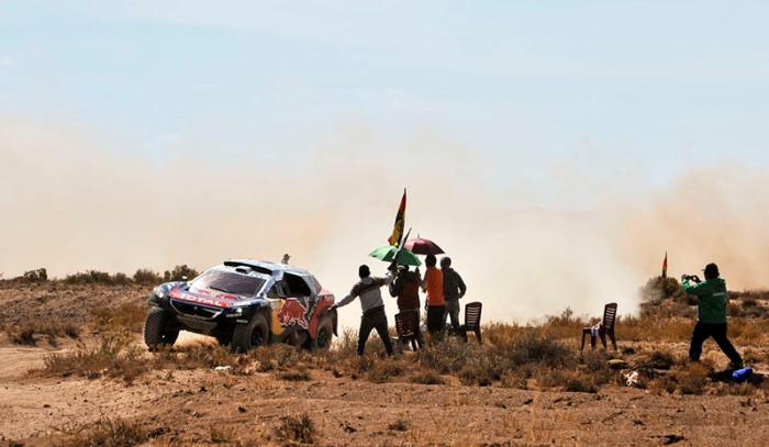 Sebastien Loeb en el Dakar