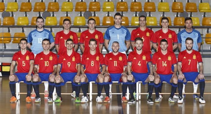Convocatoria de la selección española de fútbol sala para el Europeo