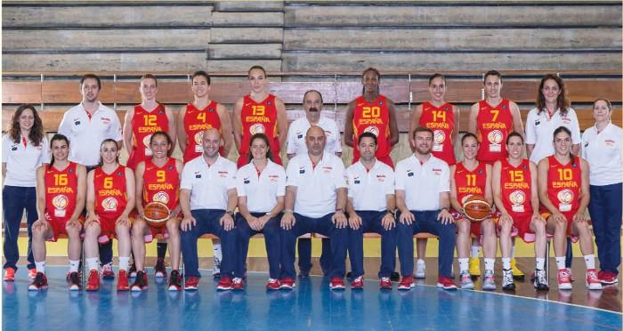 La selección femenina de baloncesto ya conoce su camino para estar en Río 2016
