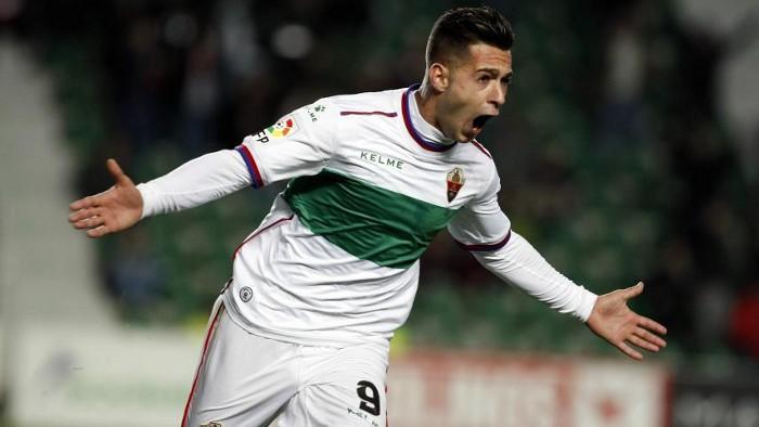 Sergio León sigue haciendo goles con el Elche