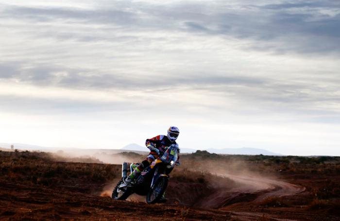 Toby Price gana su tercera especial en el Dakar