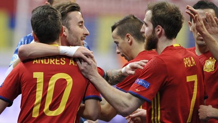 Europeo Fútbol Sala 2016: España se mide en cuartos a la Portugal de Ricardinho