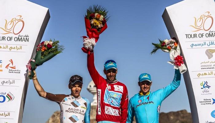 Tour de Omán 2015: victoria para Nibali que afina de cara al Giro