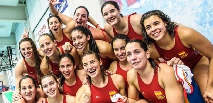 La selección española de waterpolo femenino estará en Río 2016