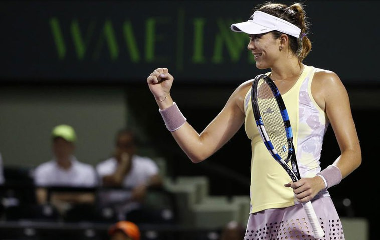 Masters 1000 Miami 2016: Muguruza y Azarenka a octavos de final