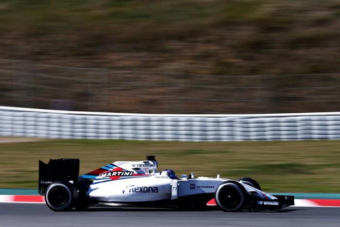 Valtteri Bottas con Williams
