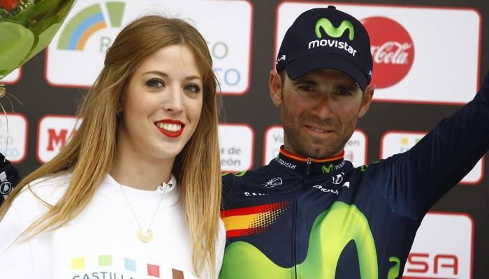 Valverde se llevó la general y dos etapas en la Vuelta a Castilla y León