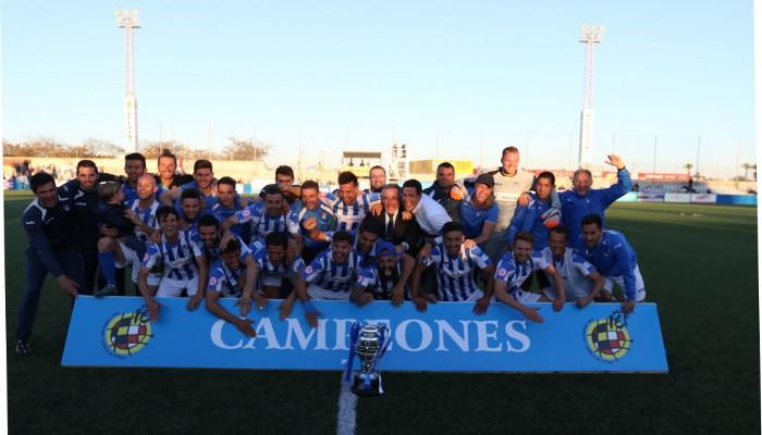 El Atlético Baleares ganó la Copa Federación de 2016