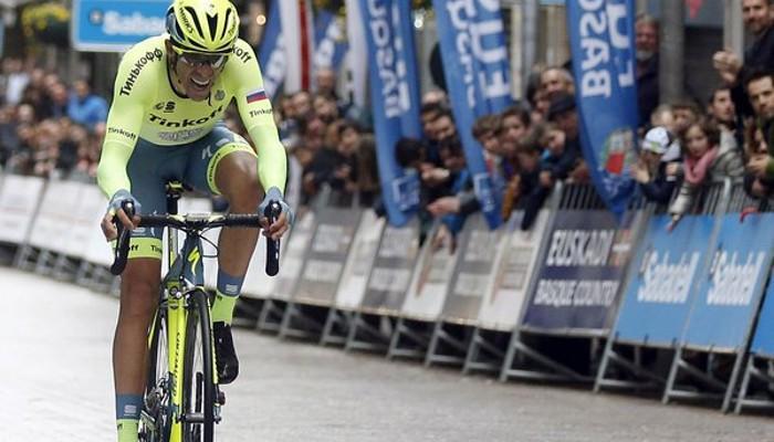 Contador volvió a salir ganador de la Vuelta al País Vasco