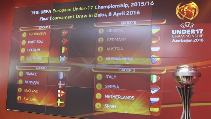 Sorteo de la fase de grupos de la Eurocopa de 2016