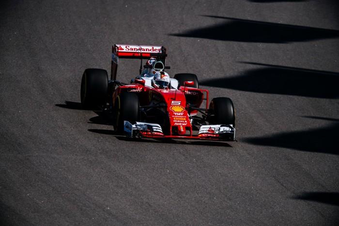 Ferrari en el GP de Rusia