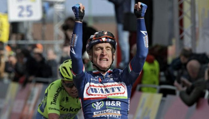 Gasparotto ganó por segunda vez en la Amstel Gold Race