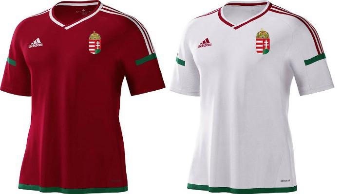 Camisetas de la selección de Hungría para la Eurocopa 2016