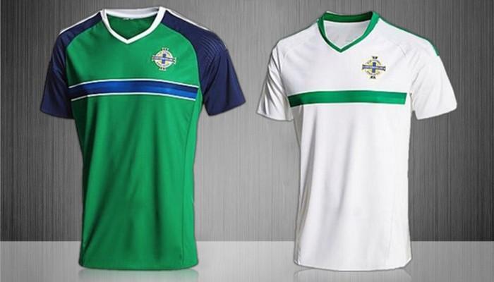 Camisetas de la selección de Irlanda del Norte para la Eurocopa 2016