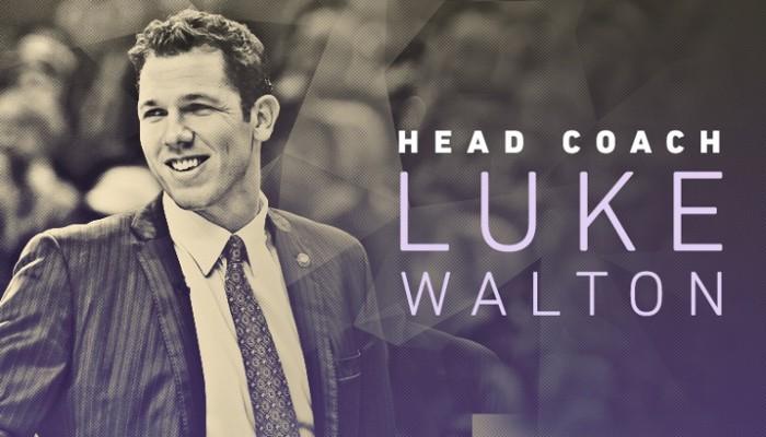 Los Lakers dan la bienvenida a Luke Walton, su nuevo entrenador