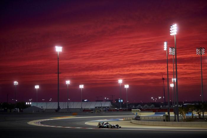 Mercedes en el GP de Bahrein
