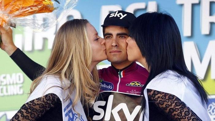 Mikel Landa se llevó la general y una etapa en el Giro del Trentino 2016