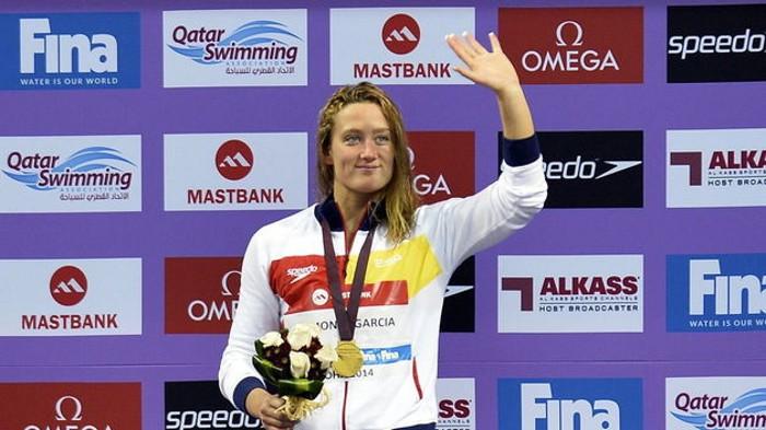 Mireia Belmonte es una de las mejores deportistas españolas