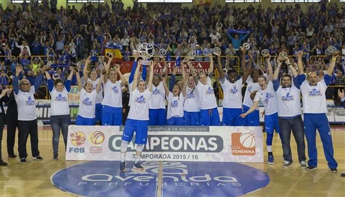 Perfumerías ganó el título de liga por cuarta vez en su historia